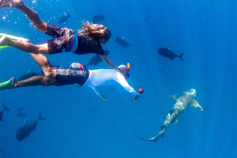 Surf with Shane Dorian at Kandooma Resort - Maldives
