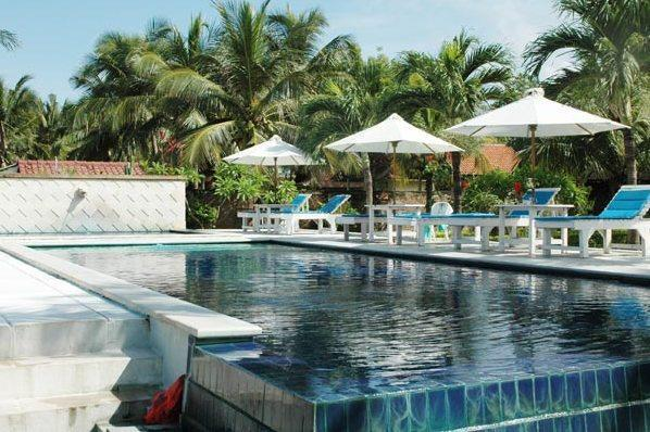 Pool at Aman Gati Hotel - Lakey Peak